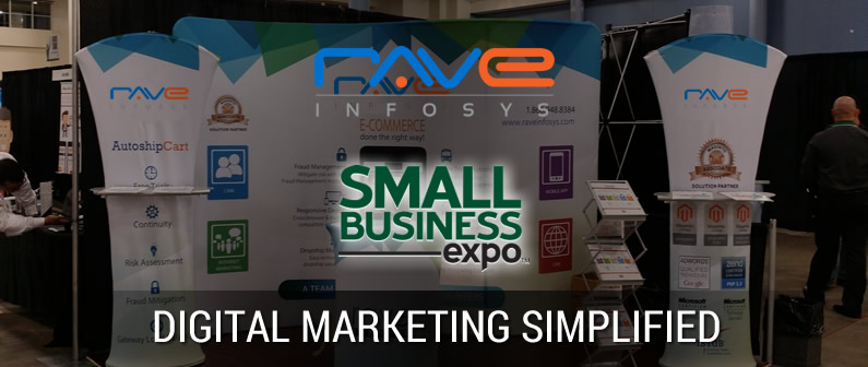 Rave Digital at Small Business Expo 2015